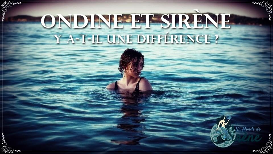 🙃 Présentes dans beaucoup de légendes, les ondines sont pourtant peu connues et souvent confondues avec une lointaine cousine : la sirène !